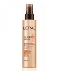 Lierac Sunific 1 Latte Spray Anti età Iridescente Corpo SPF30