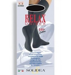 Solidea Relax Unisex Gambaletto 140 Denari Nero Taglia M
