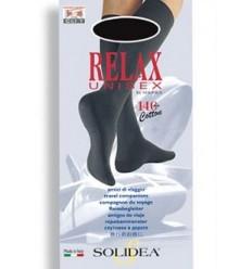 Solidea Relax Unisex Gambaletto 140 Denari Nero Taglia ML