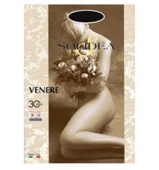 Solidea Calze Venere 30 Denari Nero Taglia 4L