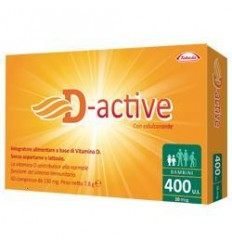 D-active 400 Ui Bambini 60cpr