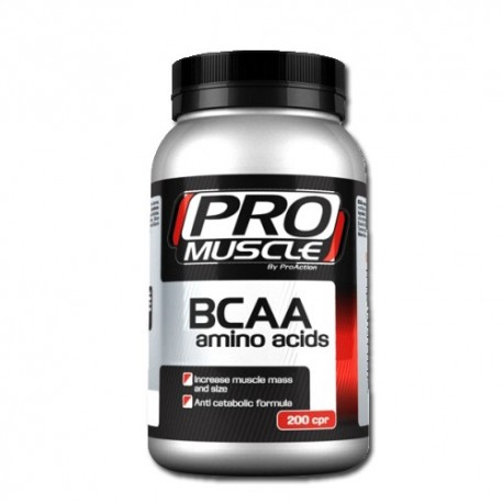 Promuscle Bcaa Amino Acid 200 cpr