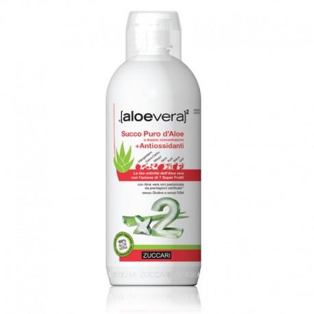 Zuccari Aloevera 2 Succo d' Aloe e Antiossidanti - 1000 ml