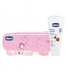 Chicco Set Dentale Rosa Fluoro