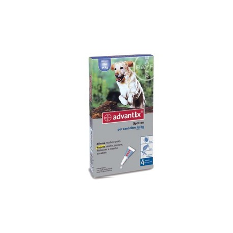 Advantix Spot On Per Cani Oltre 25 Kg.