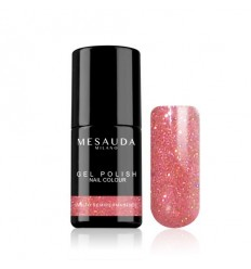 Mesauda 049 Gel Polish Glitter Rosa 5ml