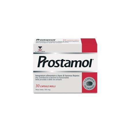 Prostamol Integratore Prostata e Vie Urinarie 30 capsule