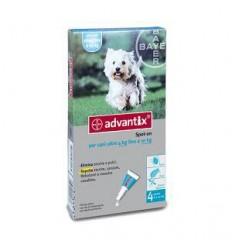 Advantix Spot-on per cani oltre 4 kg fino a 10 kg