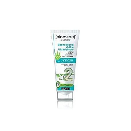 Zuccari Aloevera2 Bagnodoccia d'Aloe Ultradelicato - 250ml