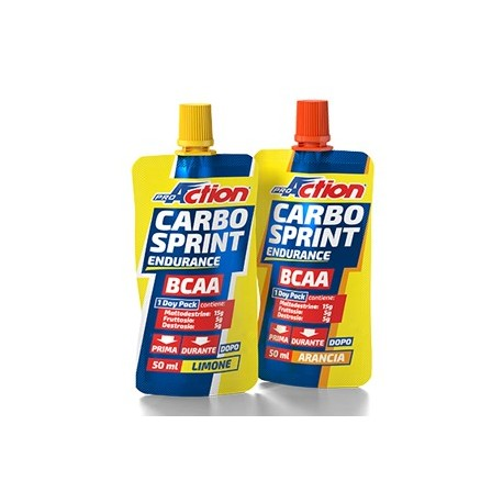 Proaction Carbo Sprint® BCAA Arancia - 50ml