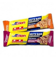 Proaction Nuts Bar Arancia e Nocciole 30g