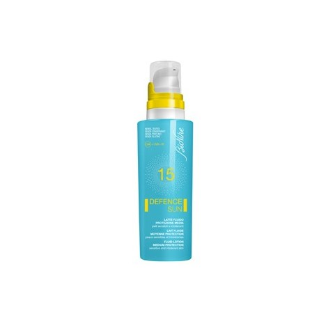 Bionike DefenceSun Latte Fluido Solare SPF15 Protzione Media 125ml