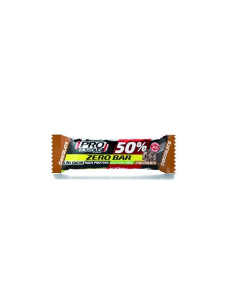 Promuscle Zero Bar 50% - 60gr gusto cioccolato