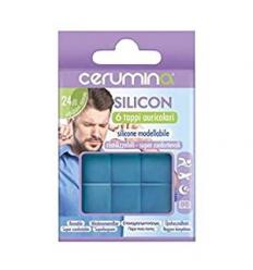 Cerumina Silicon Tappi Auricolari In Silicone Modellabile 6 pezzi