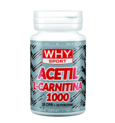 Acetil L Carnitina 1000 30cpr