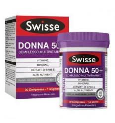 Swisse Multivit Donna50+ 30cpr