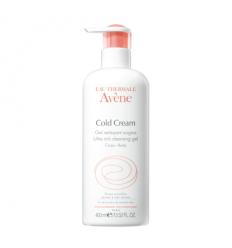 Avène Cold Cream Gel Detergente Surgras 400ml
