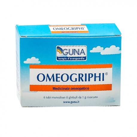GUNA Omeogriphi Globuli - 6 Tubi 1gr