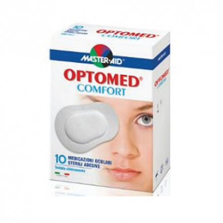 Master Aid Optomed Comfort - Medicazione Oculare 10 pezzi