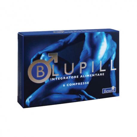 Benefit Blupill Integratore Sessuale Naturale - 6 compresse