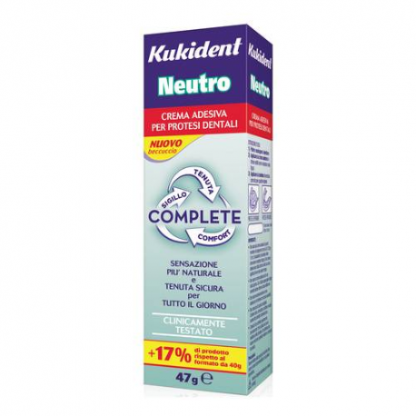Kukident Neutro Complete Crema Adesiva - 47gr