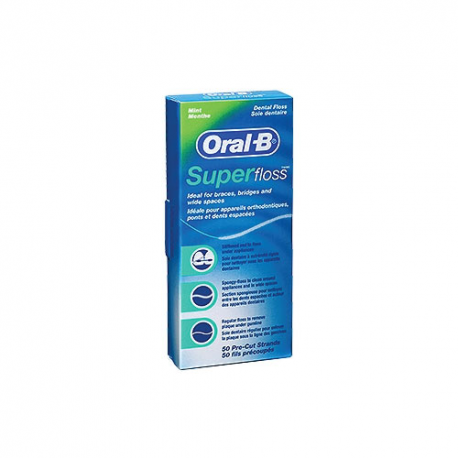 Oral B Superfloss - 50 Fili