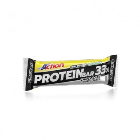Proaction Prot Bar 33% Cioc50g