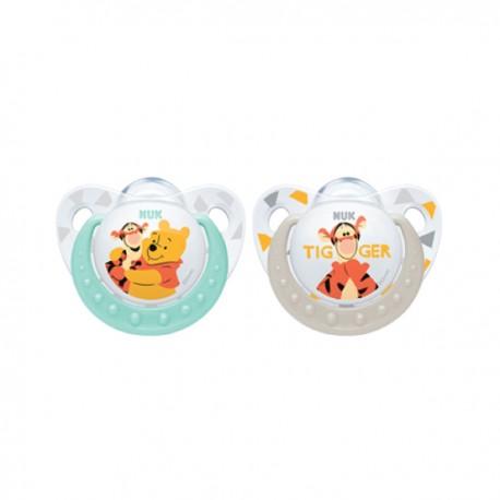 Nuk Succhietto Silicone Winnie Pooh - 2 pezzi