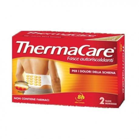 Thermacare - 2 Fasce Autoriscaldanti per schiena