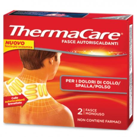 Thermacare - 2 Fasce Autoriscaldanti Per Collo Spalla e Polso