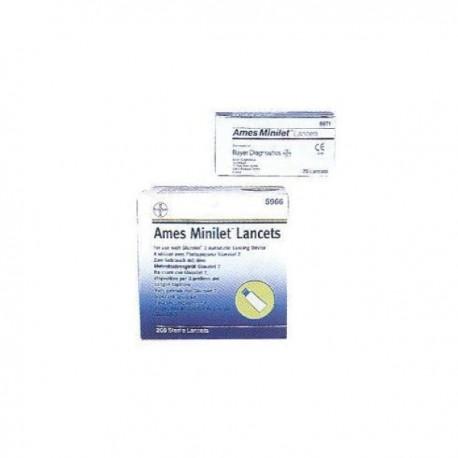 Ames Minilet Lancet - 25 pezzi