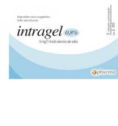 Intragel Sir Ac Ial0,8% 2ml3pz