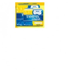 Tampax Compak Reg 16pz